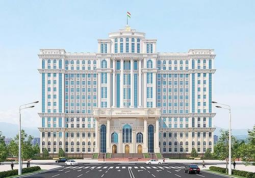 塔吉克斯坦政府大楼,江都建设建!
